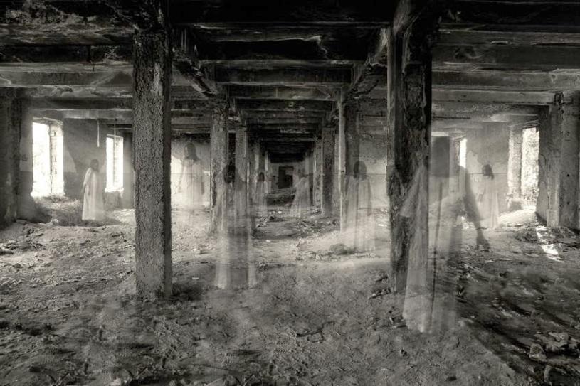 Resultado de imagem para locais assombrados espiritismo