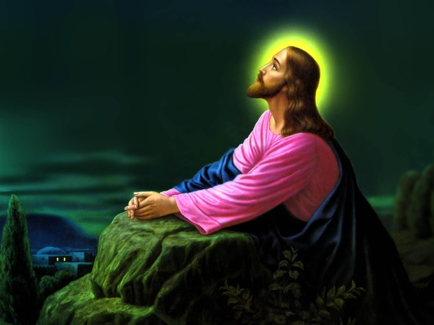 Jesus Christ Praying Wallpapers