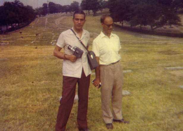 FOTO JORGE RIZZINI E CHICO XAVIER
