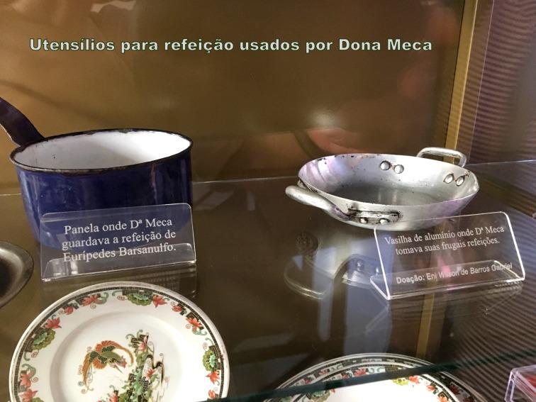 Utensílos para refeição usados por dona Meca1