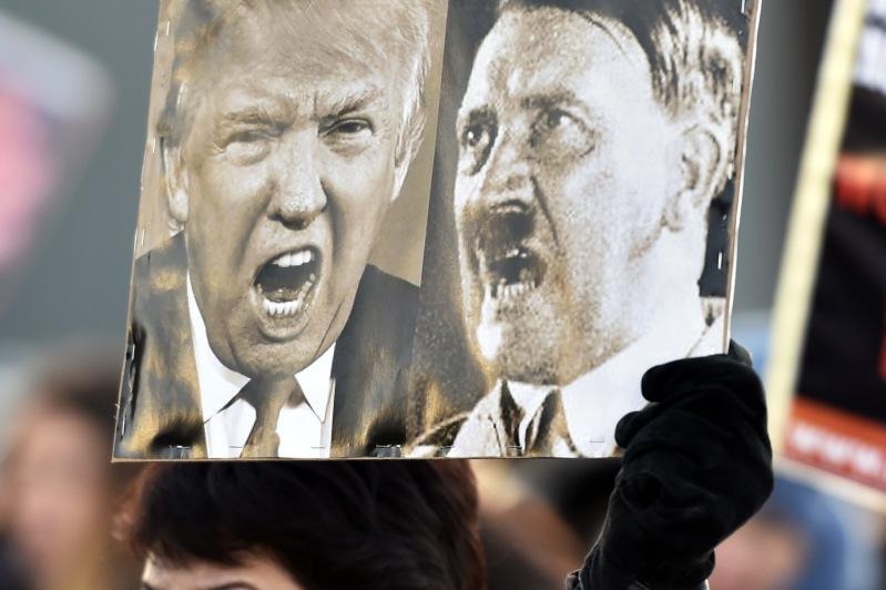 FINLAND-US-POLITICS-TRUMP-INAUGURATION-DEMO